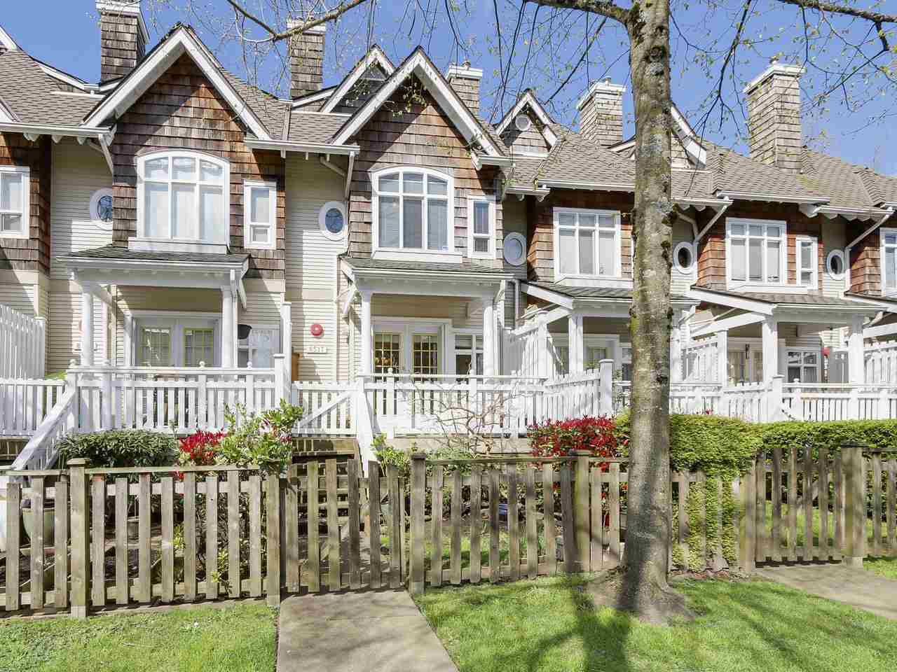 """Main Photo: 8517 JELLICOE Street in Vancouver: Fraserview VE Townhouse for sale in """"Lighthouse"""" (Vancouver East)  : MLS®# R2178712"""