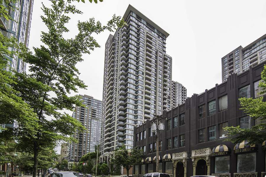 Main Photo: 1509 928 HOMER STREET in Vancouver: Yaletown Condo for sale (Vancouver West)  : MLS®# R2184142