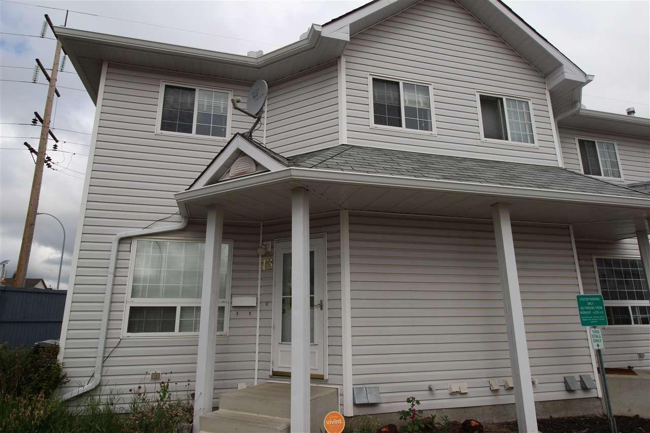 Main Photo: 13 10 Cranberry Drive: Sherwood Park Townhouse for sale : MLS®# E4118745