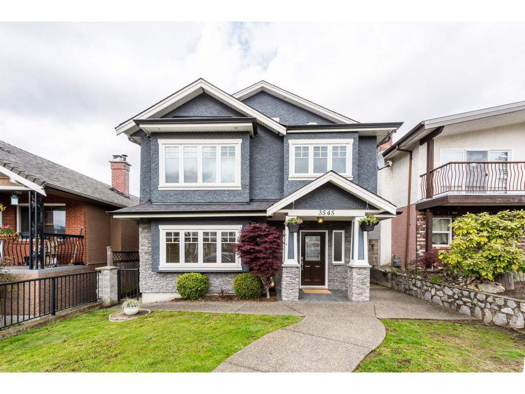 Main Photo: 3545 OXFORD Street in Vancouver: Hastings Sunrise House for sale (Vancouver East)  : MLS®# R2360542