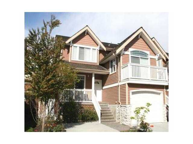"Main Photo: 18 1506 EAGLE MOUNTAIN Drive in Coquitlam: Westwood Plateau Townhouse for sale in ""RIVER ROCK"" : MLS®# V884983"