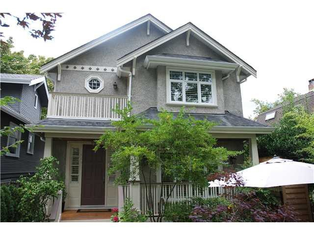 Main Photo: 3515 W 22ND Avenue in Vancouver: Dunbar House for sale (Vancouver West)  : MLS®# V985154