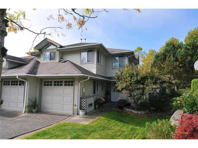 "Main Photo: 37 22740 116TH Avenue in Maple Ridge: East Central Townhouse for sale in ""FRASER GLEN"" : MLS®# V1032832"