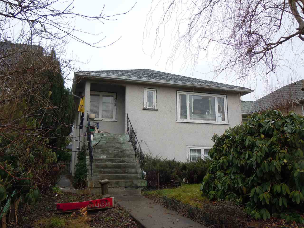 Main Photo: 2267 E BROADWAY in Vancouver: Grandview VE House for sale (Vancouver East)  : MLS®# R2023615