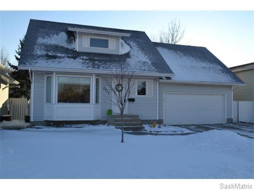 Main Photo: 2435 Kenderdine Road in Saskatoon: Erindale Single Family Dwelling for sale (Saskatoon Area 01)  : MLS®# 565240