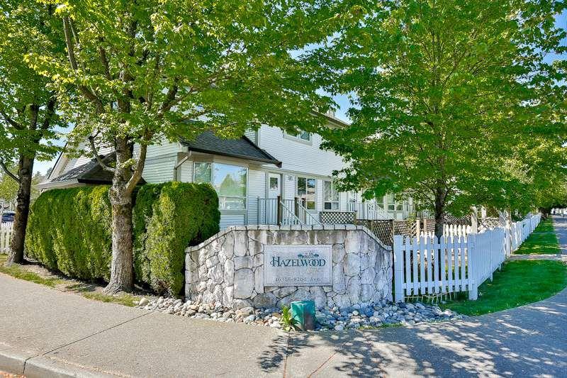 "Main Photo: 11 16318 82 Avenue in Surrey: Fleetwood Tynehead Townhouse for sale in ""Hazelwood Lane"" : MLS®# R2066434"