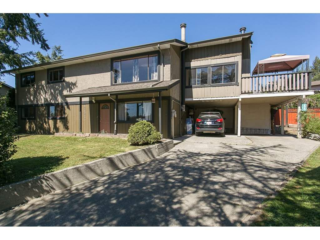 Main Photo: 27573 32B Avenue in Langley: Aldergrove Langley House for sale : MLS®# R2103478