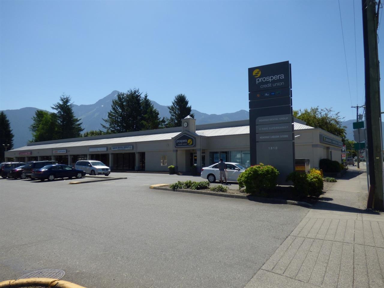 Main Photo: 1810 AGASSIZ-ROSEDALE Highway: Agassiz Retail for lease : MLS®# C8010629