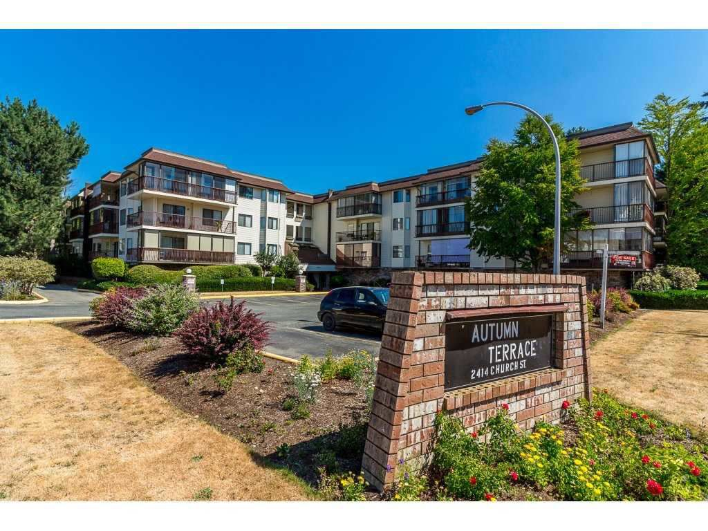 """Main Photo: 216 2414 CHURCH Street in Abbotsford: Abbotsford West Condo for sale in """"Low Rise Aapartment Z"""" : MLS®# R2330381"""