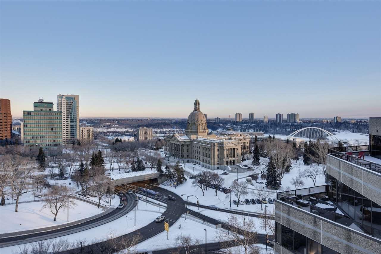 Main Photo: 1403 9715 110 Street in Edmonton: Zone 12 Condo for sale : MLS®# E4140709