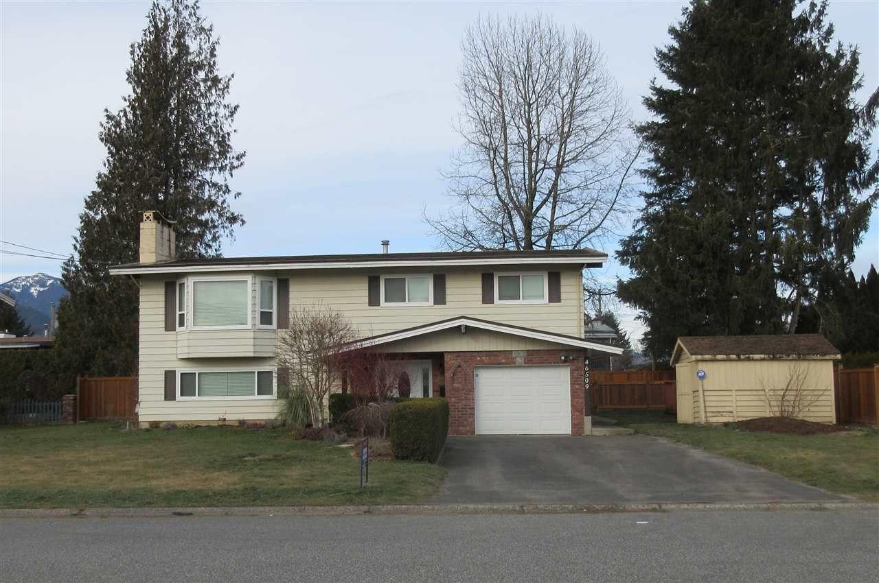 Main Photo: 46509 ELLIOTT Avenue in Chilliwack: Fairfield Island House for sale : MLS®# R2337435