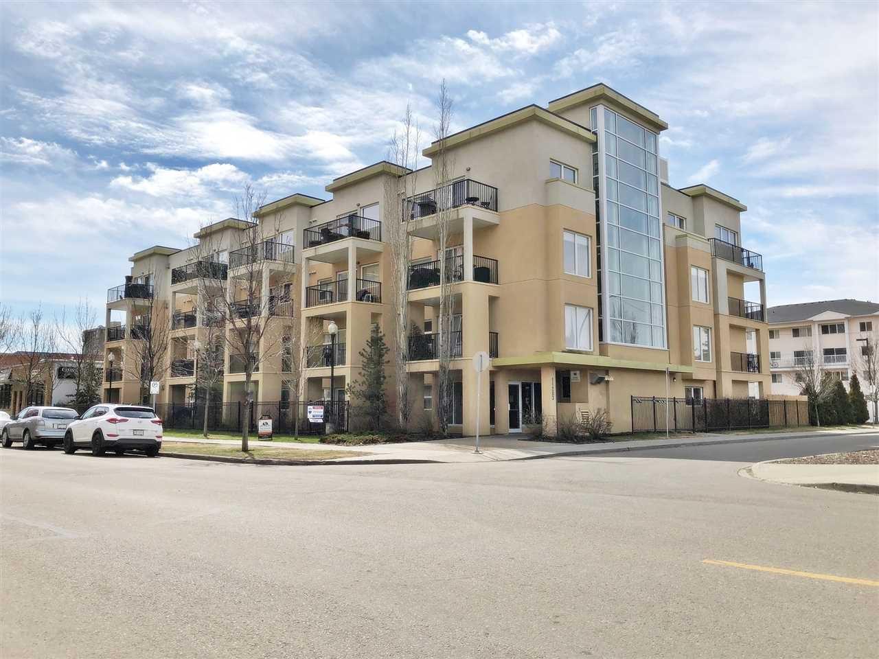 Main Photo: 308 11203 103A Avenue in Edmonton: Zone 12 Condo for sale : MLS®# E4145067