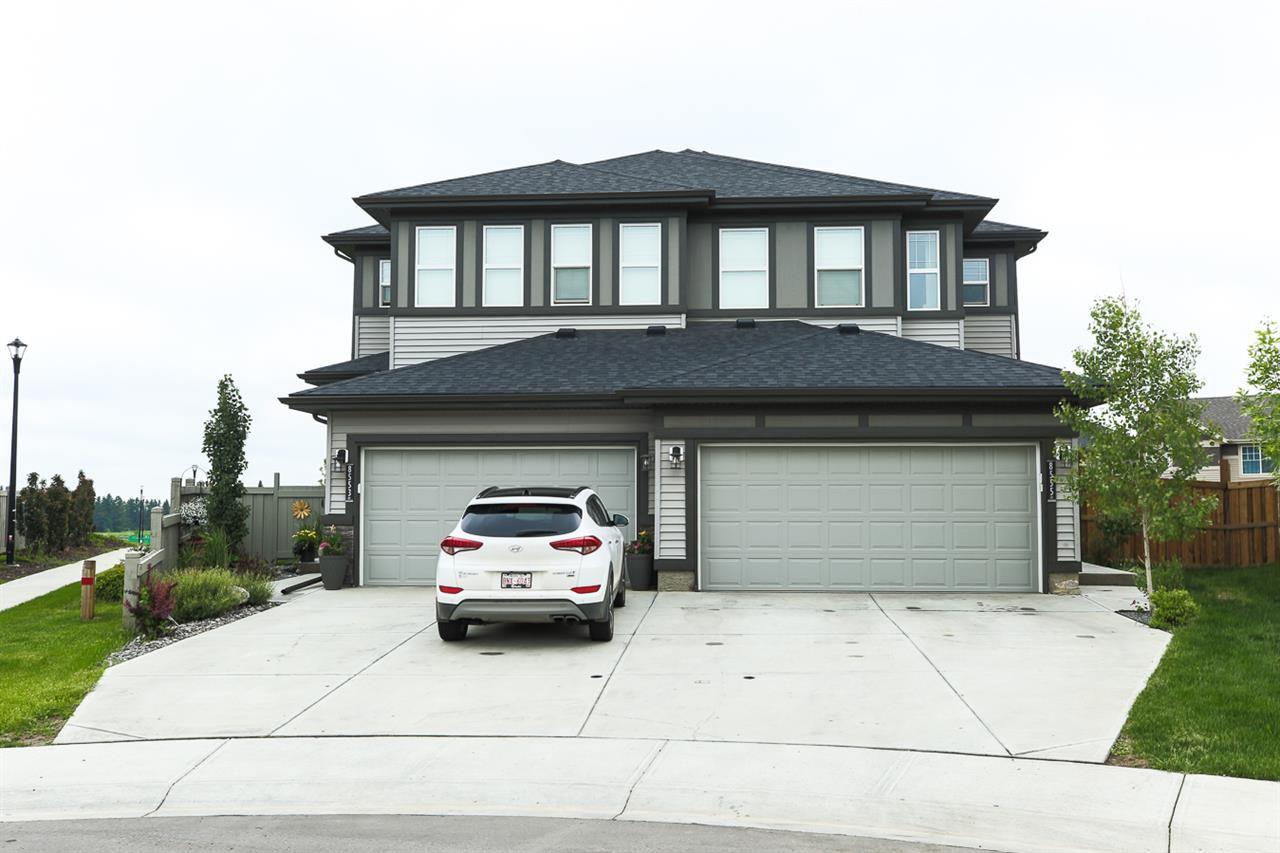 Main Photo: 8555 CUSHING Place in Edmonton: Zone 55 House Half Duplex for sale : MLS®# E4162899