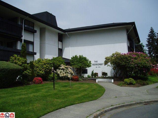 "Main Photo: 302 1561 VIDAL Street: White Rock Condo for sale in ""Ridgecrest"" (South Surrey White Rock)  : MLS®# F1118785"