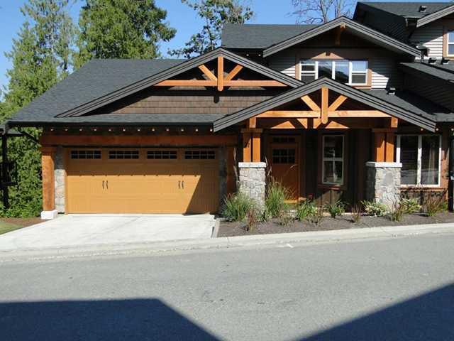 "Main Photo: 71 24185 106B Avenue in Maple Ridge: Albion House 1/2 Duplex for sale in ""TRAILS EDGE"" : MLS®# V908664"