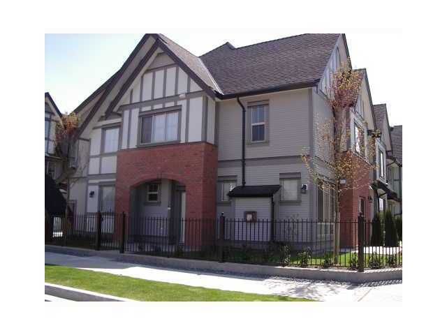 Main Photo: 30 9688 Keefer Avenue in richmond: Townhouse for sale : MLS®# V914755