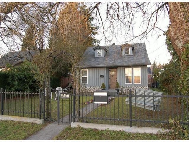 Main Photo: 33497 7TH Avenue in Mission: Mission BC House for sale : MLS®# F1401920