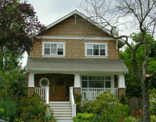 Main Photo: 6241 VINE ST in Vancouver: Kerrisdale House for sale (Vancouver West)  : MLS®# V601608