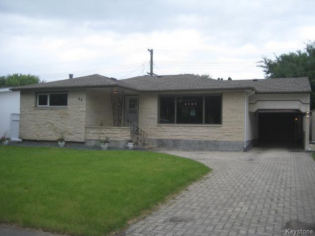 Main Photo: 43 Lincrest Road in Winnipeg: Garden City Residential for sale (4G)  : MLS®# 1622696