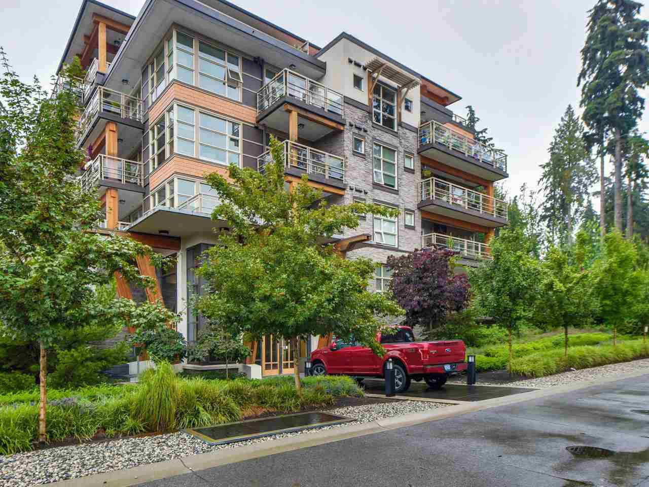 "Main Photo: 416 3606 ALDERCREST Drive in North Vancouver: Roche Point Condo for sale in ""DESTINY 1 AT RAVENSWOOD"" : MLS®# R2139965"