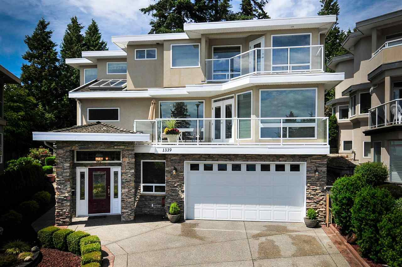 "Main Photo: 1339 132B Street in Surrey: Crescent Bch Ocean Pk. House for sale in ""Eagle Crest"" (South Surrey White Rock)  : MLS®# R2159366"