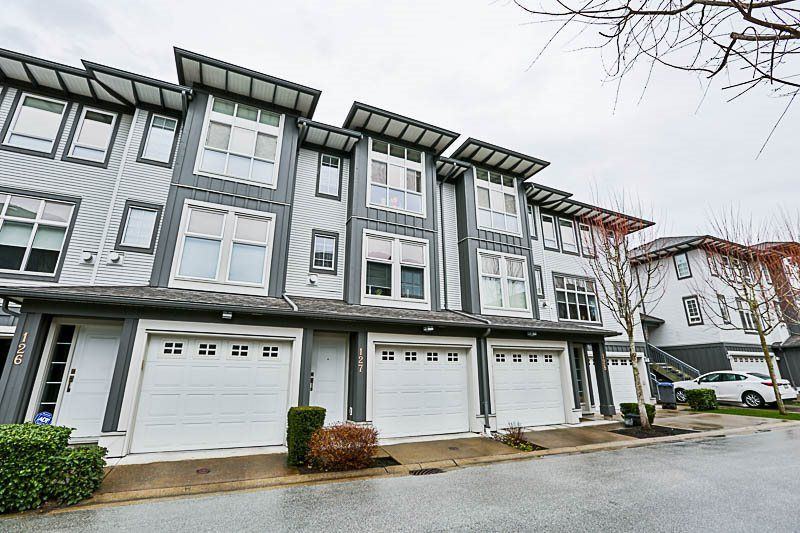 """Main Photo: 127 18777 68A Avenue in Surrey: Clayton Townhouse for sale in """"COMPASS"""" (Cloverdale)  : MLS®# R2246372"""
