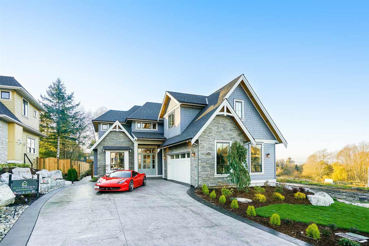 "Main Photo: 2885 165 Street in Surrey: Grandview Surrey House for sale in ""Morgan View Estates"" (South Surrey White Rock)  : MLS®# R2323834"