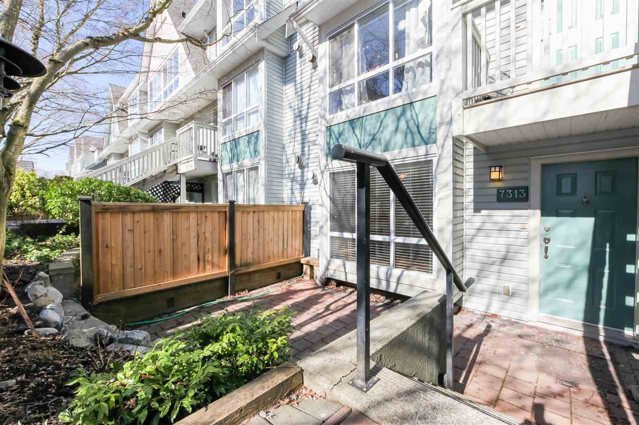 "Main Photo: 7313 MAGNOLIA Terrace in Burnaby: Highgate Townhouse for sale in ""THE VILLAGE"" (Burnaby South)  : MLS®# R2345927"