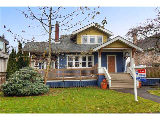"Main Photo: 2249 W 35TH Avenue in Vancouver: Quilchena House for sale in ""KERRISDALE/QUILCHENA"" (Vancouver West)  : MLS®# V927101"