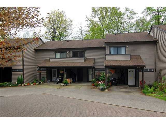 Main Photo: 8580 Woodgrove Place in Burnaby: Forest Hills BN Condo for sale (Burnaby North)  : MLS®# V1003573
