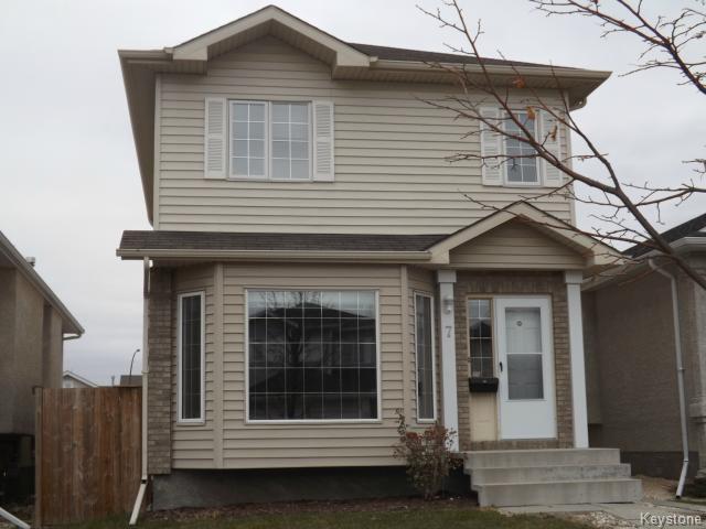 Main Photo: 7 Draho Crescent in WINNIPEG: St Vital Residential for sale (South East Winnipeg)  : MLS®# 1324343