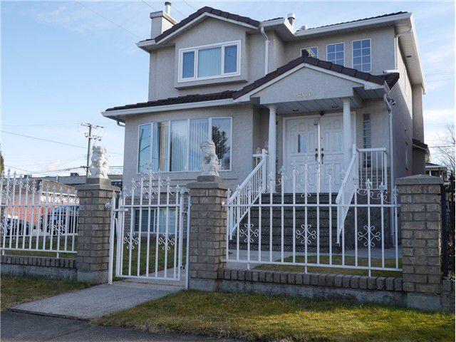 Main Photo: 5906 BEATRICE Street in Vancouver: Killarney VE House for sale (Vancouver East)  : MLS®# V1048925