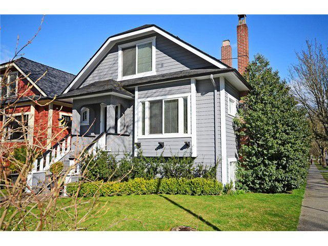 Main Photo: 3292 LAUREL Street in Vancouver: Cambie House for sale (Vancouver West)  : MLS®# V1050067
