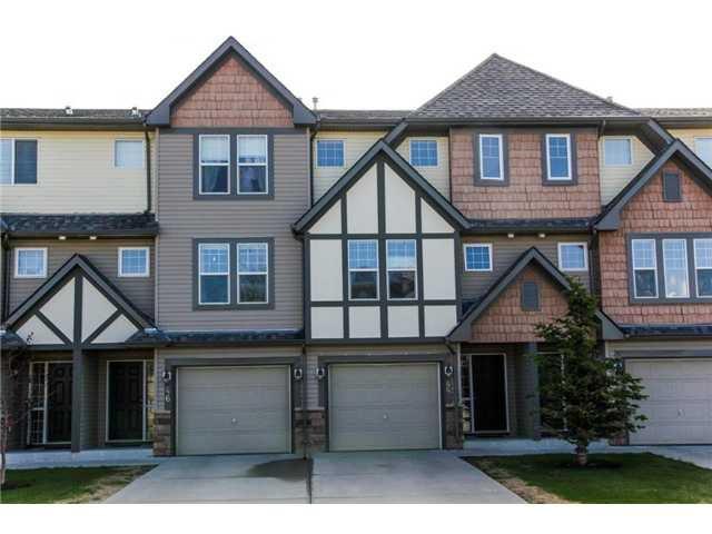 Main Photo: 44 EVERRIDGE Common SW in CALGARY: Evergreen Townhouse for sale (Calgary)  : MLS®# C3617240
