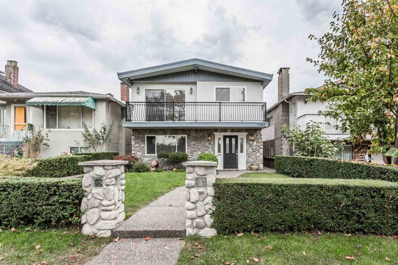 Main Photo: 7380 SHERBROOKE Street in Vancouver: South Vancouver House for sale (Vancouver East)  : MLS®# R2007333