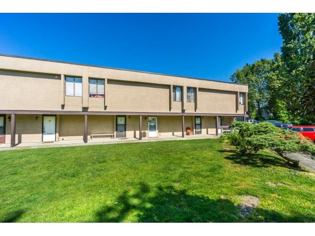 """Main Photo: 62 17710 60 Avenue in Surrey: Cloverdale BC Townhouse for sale in """"CLOVER PARK GARDENS"""" (Cloverdale)  : MLS®# R2066683"""