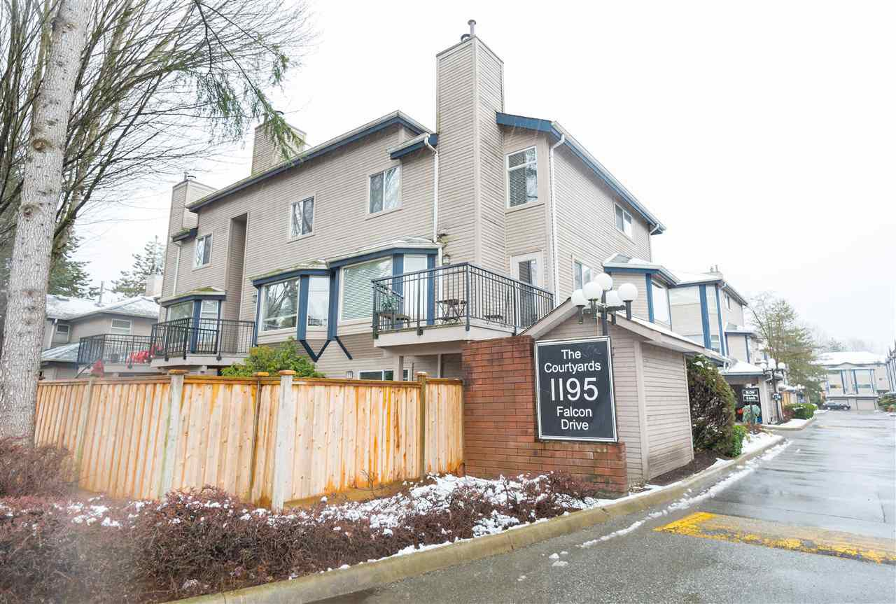 "Main Photo: 9 1195 FALCON Drive in Coquitlam: Eagle Ridge CQ Townhouse for sale in ""THE COURTYARDS"" : MLS®# R2144361"