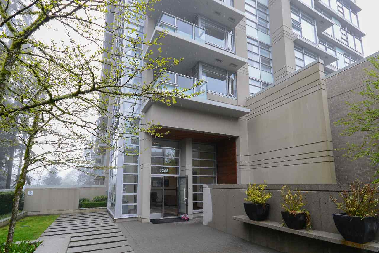 "Main Photo: 607 9266 UNIVERSITY Crescent in Burnaby: Simon Fraser Univer. Condo for sale in ""Aurora"" (Burnaby North)  : MLS®# R2161756"