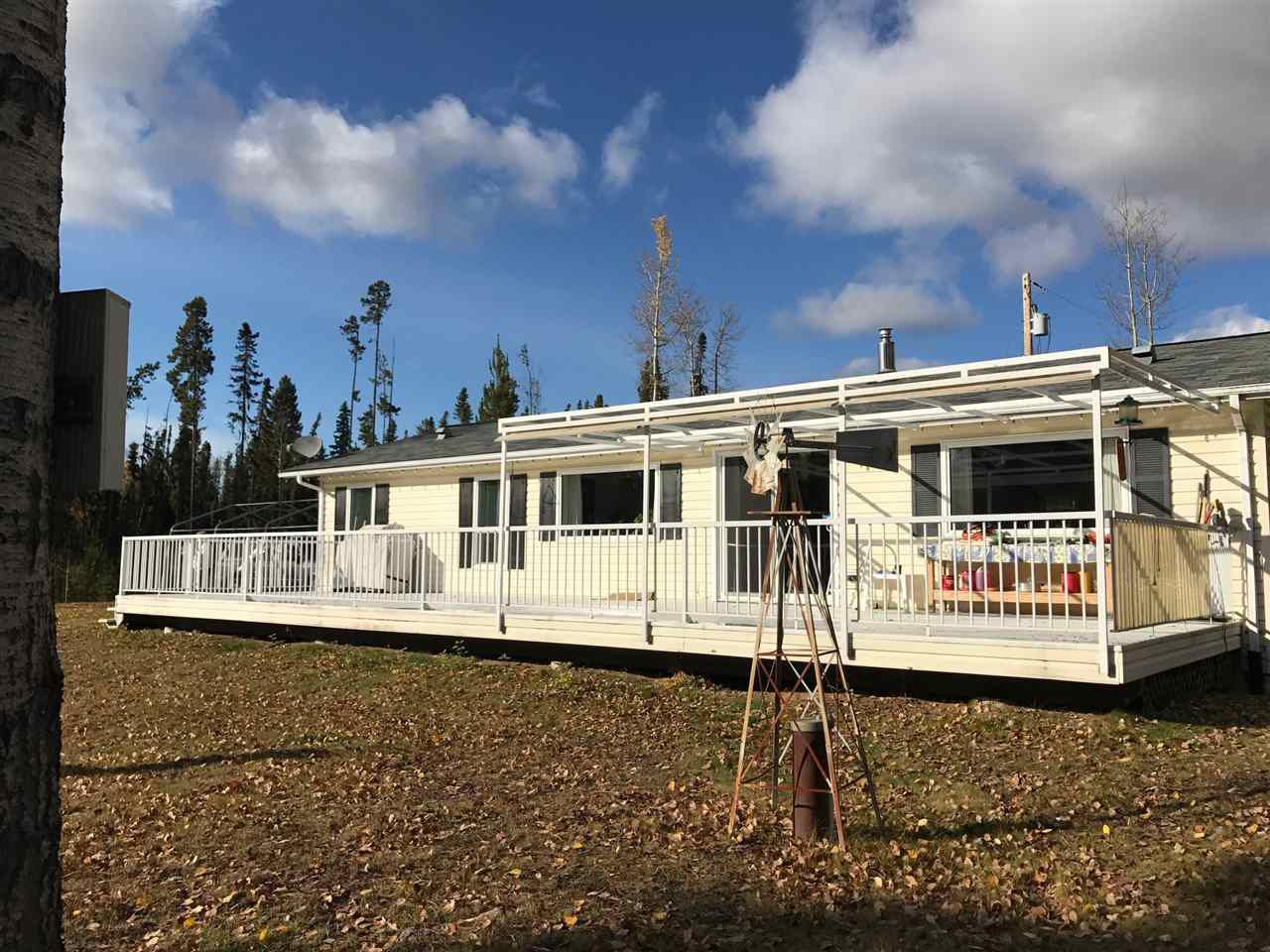 """Main Photo: 12765 MILES Road in Prince George: Beaverley Manufactured Home for sale in """"HOMESTEAD ACRES"""" (PG Rural West (Zone 77))  : MLS®# R2217238"""