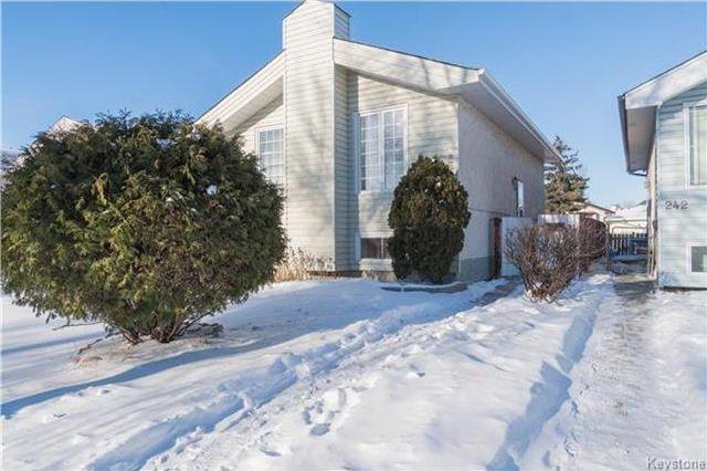 Main Photo: 238 Devonshire Drive in Winnipeg: Kildonan Meadows Residential for sale (3K)  : MLS®# 1731107