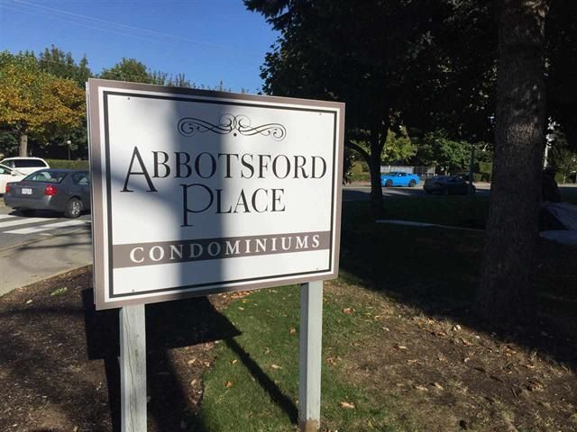 "Main Photo: 223 32850 GEORGE FERGUSON Way in Abbotsford: Central Abbotsford Condo for sale in ""Abbotsford Place"" : MLS®# R2235536"
