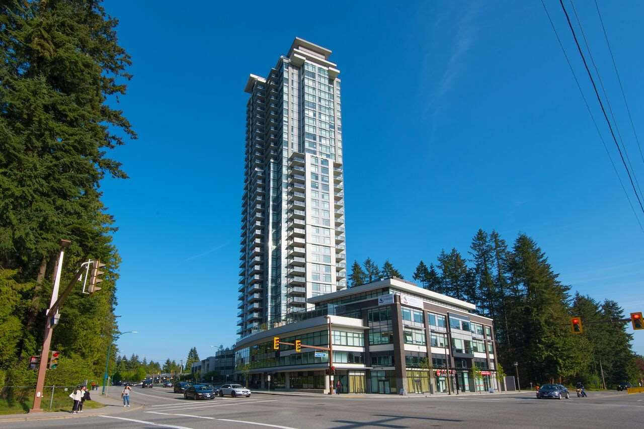 "Main Photo: 1607 3080 LINCOLN Avenue in Coquitlam: North Coquitlam Condo for sale in ""1123 WESTWOOD BUILDING"" : MLS®# R2265777"