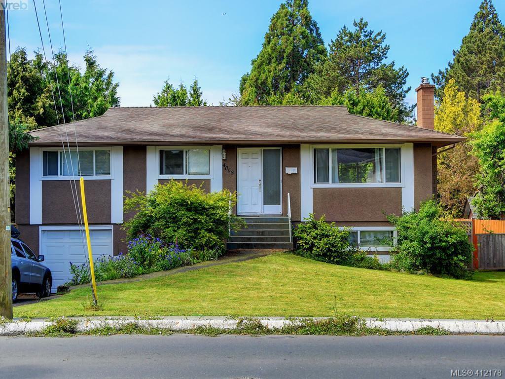 Main Photo: 4068 Cedar Hill Cross Road in VICTORIA: SE Lake Hill Single Family Detached for sale (Saanich East)  : MLS®# 412178