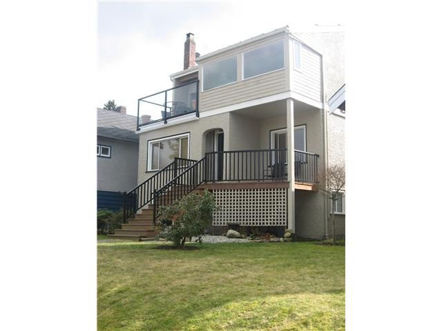 Main Photo: 4124 W 11TH Avenue in Vancouver: Point Grey House for sale (Vancouver West)  : MLS®# V874279