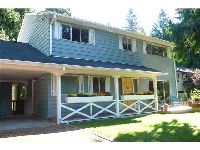 Main Photo: 4398 VALENCIA Avenue in North Vancouver: Upper Delbrook House for sale : MLS®# V1029664