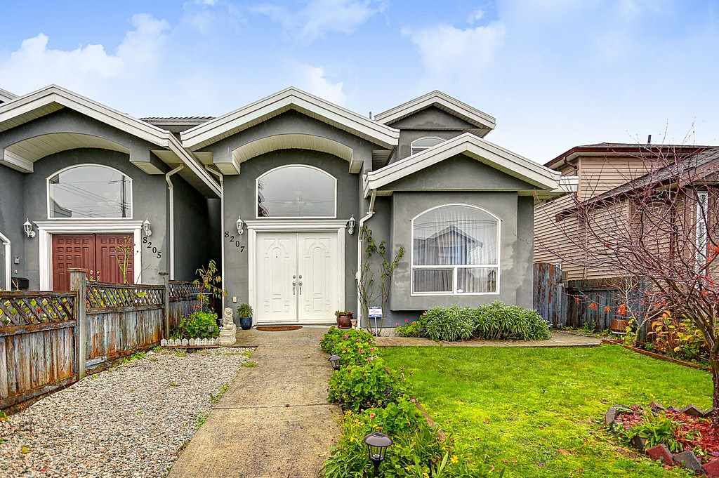 Main Photo: 8207 15TH Avenue in Burnaby: East Burnaby House 1/2 Duplex for sale (Burnaby East)  : MLS®# R2125903