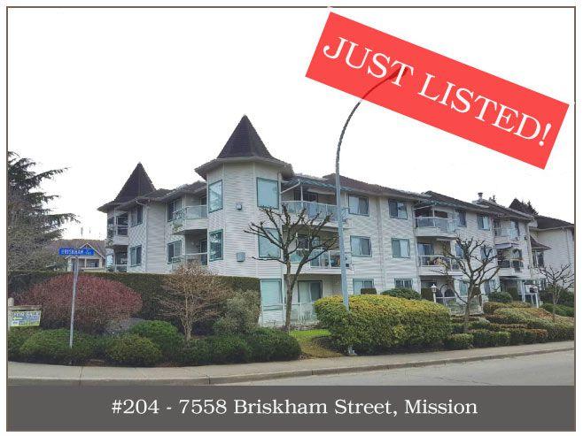 "Main Photo: 204 7554 BRISKHAM Street in Mission: Mission BC Condo for sale in ""Briskham Manor"" : MLS®# R2134752"
