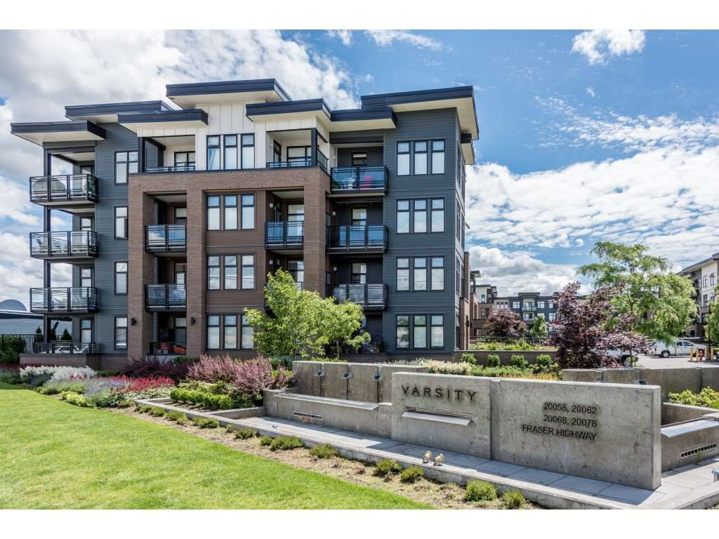 "Main Photo: 210 20068 FRASER Highway in Langley: Langley City Condo for sale in ""Varsity"" : MLS®# R2227629"
