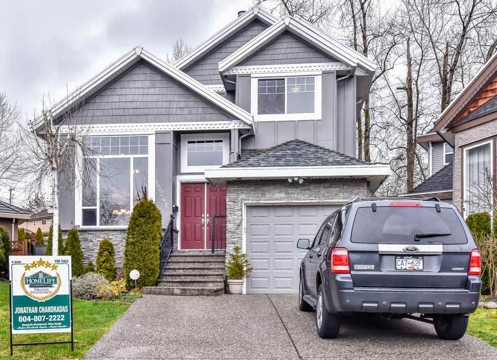 Main Photo: 15241 81A Avenue in Surrey: Fleetwood Tynehead House for sale : MLS®# R2236937