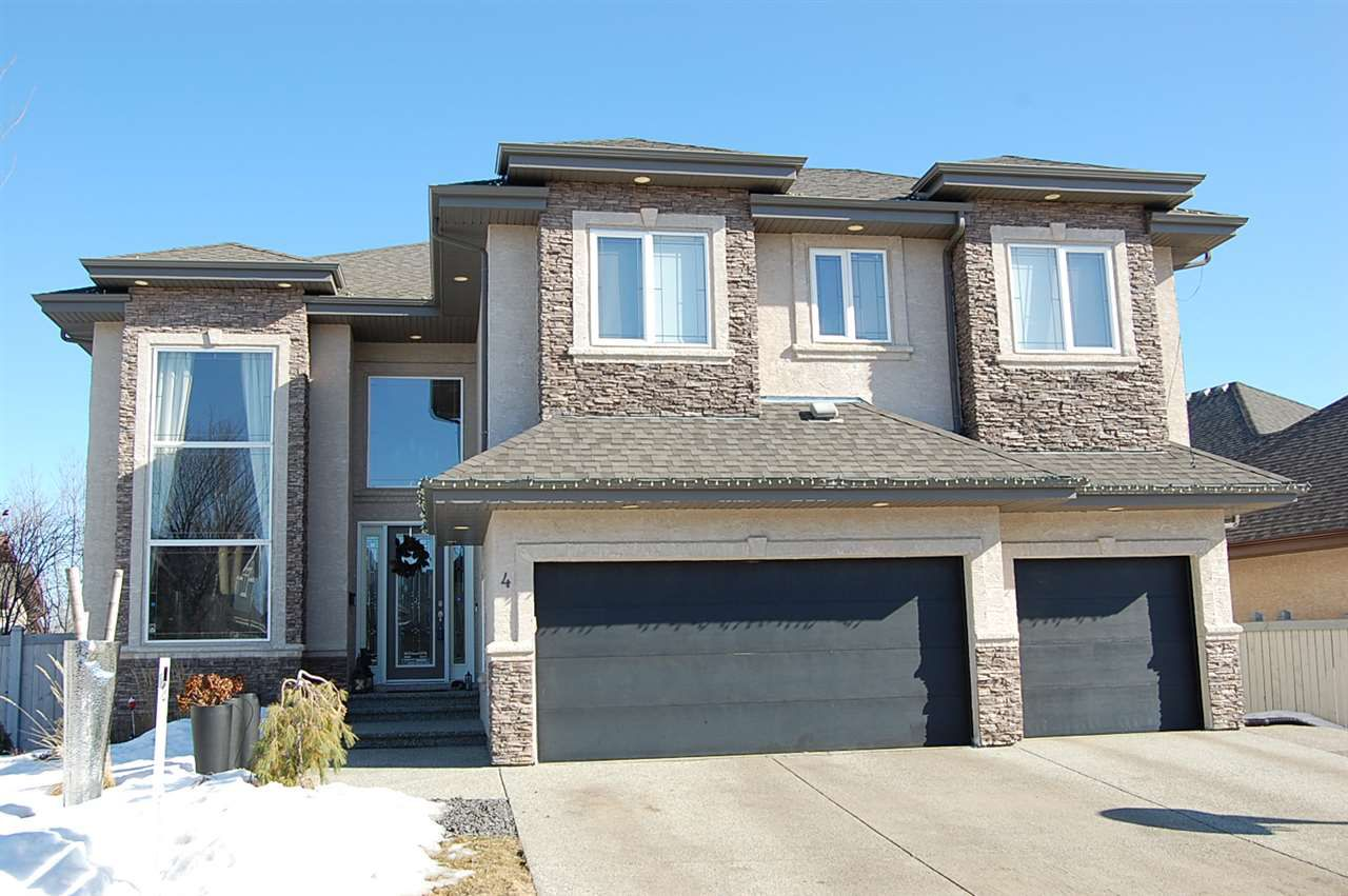 Main Photo: 4 LEVEQUE Way: St. Albert House for sale : MLS®# E4144213
